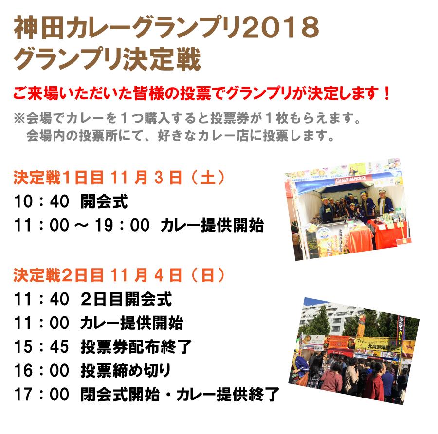 神田カレーグランプリ日時